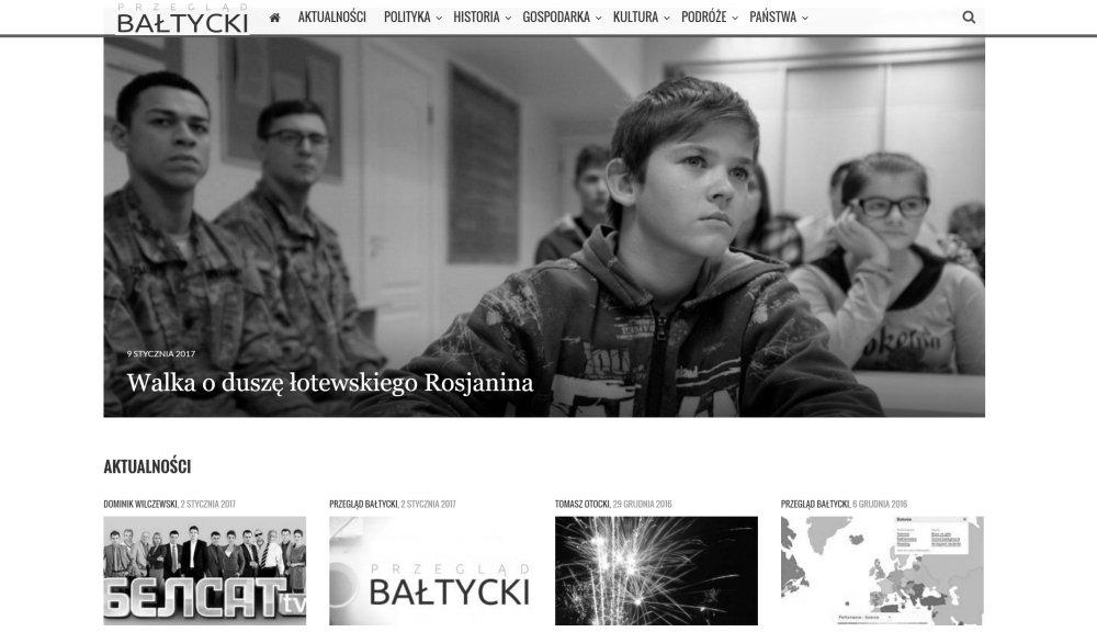 Rok 2016 w Przeglądzie Bałtyckim