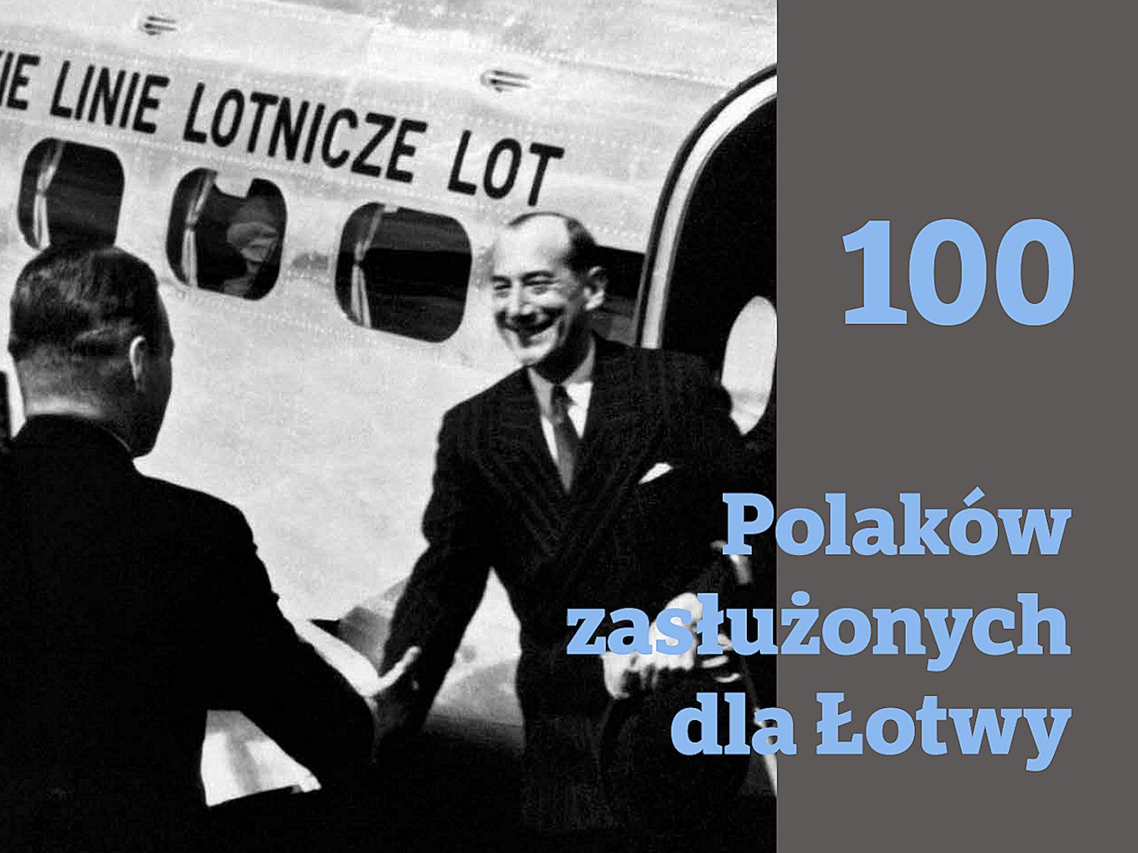 """Ukazał się album """"100 Polaków zasłużonych dla Łotwy"""""""